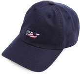 Vineyard Vines Flag Whale Baseball Cap