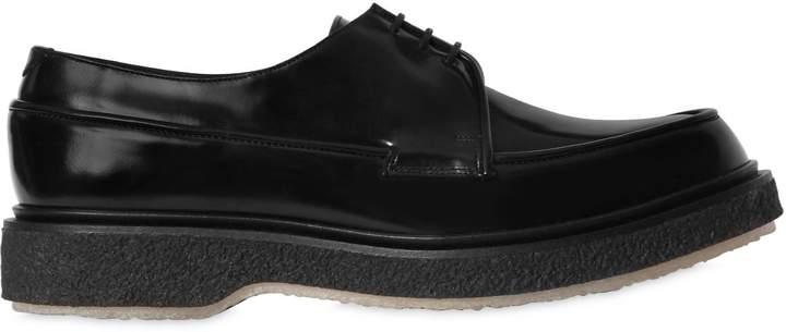 Adieu Polished Leather Lace-Up Shoes