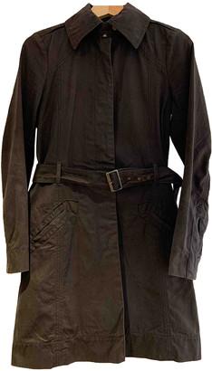 Comptoir des Cotonniers Brown Cotton Trench coats
