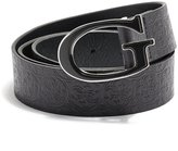 GUESS Quattro G Logo-Embossed Belt