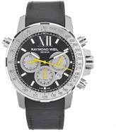 Raymond Weil Men's 7800-Tir-00207 Automatic Titanium Black Dial Chronograph Watch