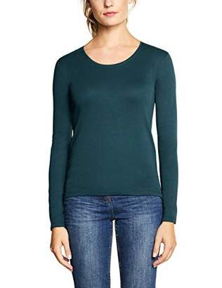Cecil Women's 314022 Pia Long Sleeve Top,Large