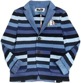 Tagliatore Junior Striped Cotton Jacket