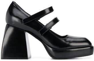 Nodaleto Babies Bulla chunky-heel pumps