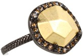 House Of Harlow Rif Pebble Ring (Gunmetal) - Jewelry