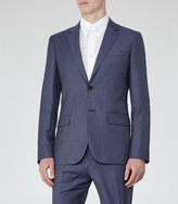 Reiss Reiss Harry B - Modern Fit Blazer In Blue
