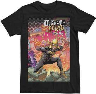 Iron Fist Men's Marvel's Typhoid Fever 2018) #1 Cover Tee