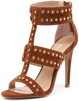 Wanted Salento Tan Suede/Gold Studs