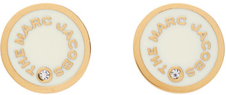 Marc Jacobs Off-White The Medallion Stud Earrings