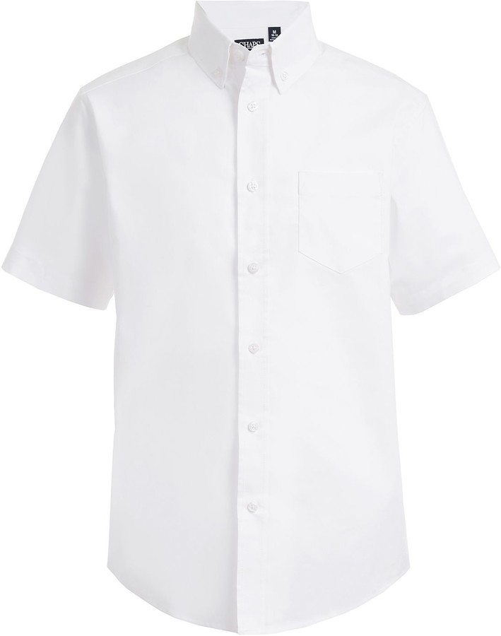 Chaps Boys 4-20 Button-Down Stretch Shirt