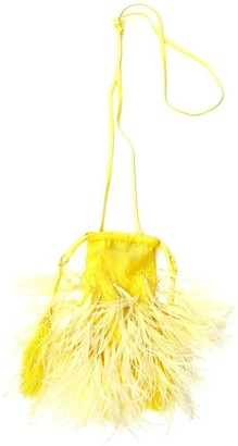 ATTICO Feather Embellished Tote Bag