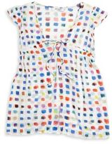 Milly Minis Toddler's & Little Girl's Pixel-Print Coverup
