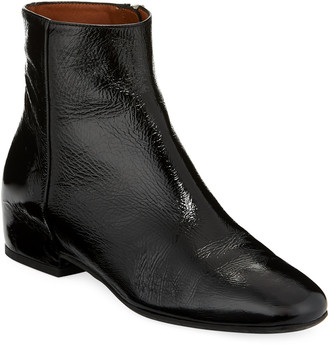 Aquatalia Ulyssa Leather Low-Heel Boot