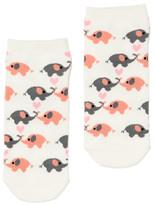 Dotti Sweet Elephant Ankle Sock
