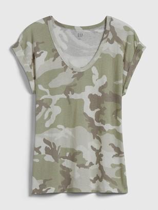 Gap Relaxed V-Neck T-Shirt