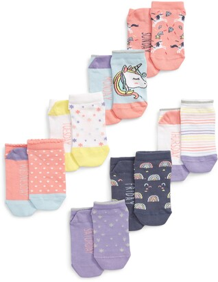 Tucker + Tate Days of the Week Assorted 7-Pack No-Show Socks