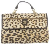 Leopard Print Fold Up Travel Changing Mat