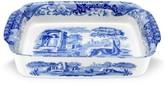 """Spode Blue Italian"""" Rectangular Handled Casserole"""