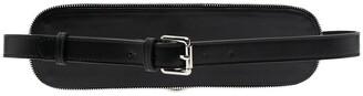 Manokhi Embellished Leather Waist Belt