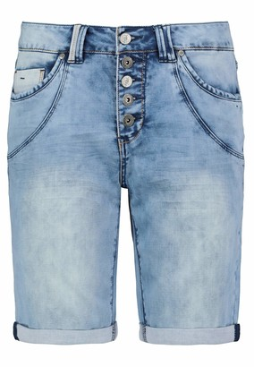 Mstyle Womens Fashion Summer Cut Off Ripped Holes Baggy Slim Thong Denim Shorts Jeans Shorts