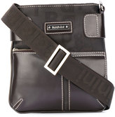 Baldinini classic messenger bag - men - Calf Leather/Nylon - One Size
