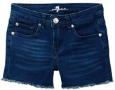 7 For All Mankind Raw Hem Short (Big Girls)