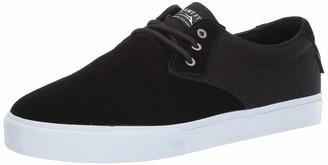 Lakai Footwear DALY Black SUEDESize 5.5 Tennis Shoe Suede Standard US Width US