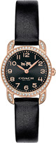 Coach 14502670 Delancey stainless steel and leather watch