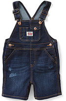 Levi's Baby Boys 3-24 Months Denim Shortall