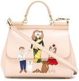 Dolce & Gabbana Family patch 'Sicily' tote