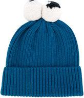 Stella McCartney pom pom beanie - kids - Cotton/Wool - 42 cm