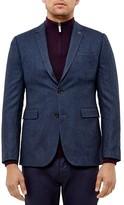 Ted Baker Herringbone Tweed Regular Fit Sport Coat