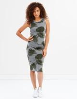 Superdry Tipped Midi Dress