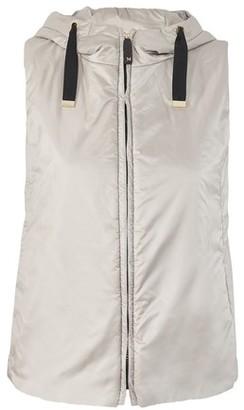 Max Mara Sleeveless hooded jacket