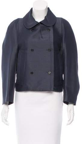 Marc Jacobs Iridescent Double-Breasted Jacket