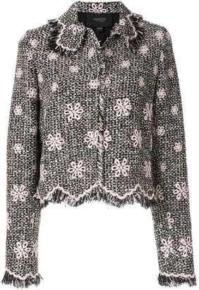 Giambattista Valli Floral Fringe Jacket