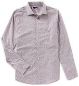 Murano Slim Long Sleeve Spread Collar Pop Print Woven Shirt