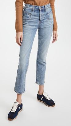 Veronica Beard Jeans Ryleigh Slim Straight Jeans