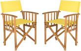 Safavieh Laguna Set Of Two Director Chairs