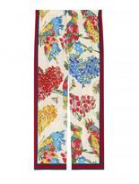 Gucci corsage print silk pajama print