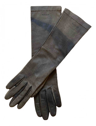 Bally Brown Suede Gloves