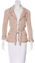 Chanel Embellished Belted Cardigan