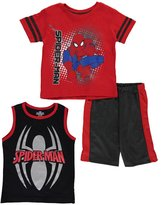 "Spiderman Little Boys' ""Webbed Heroics"" 3-Piece Set"