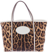 Dolce & Gabbana Animalier Printed Tote