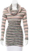 M Missoni Long Sleeve Patterned Sweater