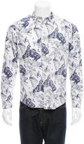 Paul Smith Printed Button-Up Shirt