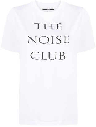 McQ Swallow The Noise Club T-shirt