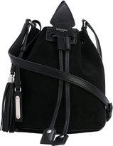 Saint Laurent bucket satchel bag - women - Lamb Skin/Suede - One Size