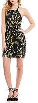 Gianni Bini Lee Floral Embroidered Sheath Dress