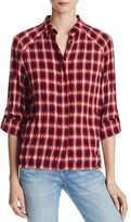 Alice + Olivia Glenna Plaid Shirt
